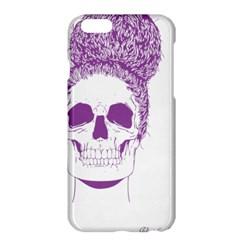 Purple Skull Bun Up Apple Iphone 6 Plus Hardshell Case