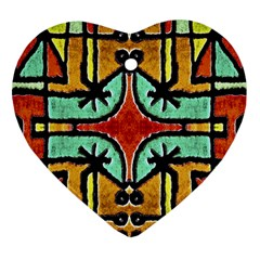 Lap Heart Ornament (two Sides)