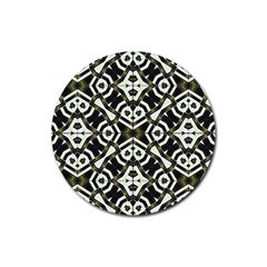Abstract Geometric Modern Pattern  Drink Coasters 4 Pack (Round)