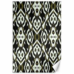 Abstract Geometric Modern Pattern  Canvas 20  x 30  (Unframed)