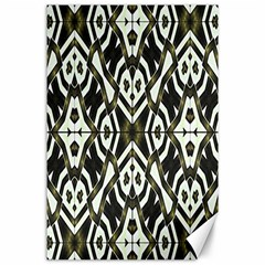 Abstract Geometric Modern Pattern  Canvas 24  x 36  (Unframed)