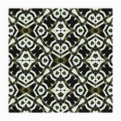 Abstract Geometric Modern Pattern  Glasses Cloth (medium, Two Sided)
