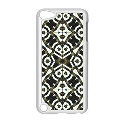 Abstract Geometric Modern Pattern  Apple iPod Touch 5 Case (White)