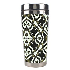 Abstract Geometric Modern Pattern  Stainless Steel Travel Tumbler