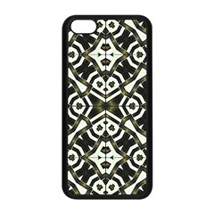 Abstract Geometric Modern Pattern  Apple iPhone 5C Seamless Case (Black)