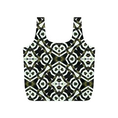 Abstract Geometric Modern Pattern  Reusable Bag (S)