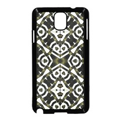 Abstract Geometric Modern Pattern  Samsung Galaxy Note 3 Neo Hardshell Case (Black)
