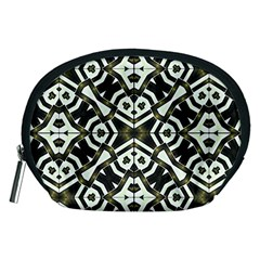 Abstract Geometric Modern Pattern  Accessory Pouch (Medium)