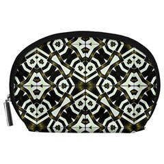 Abstract Geometric Modern Pattern  Accessory Pouch (Large)