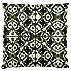 Abstract Geometric Modern Pattern  Large Flano Cushion Case (One Side)