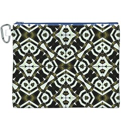Abstract Geometric Modern Pattern  Canvas Cosmetic Bag (XXXL)