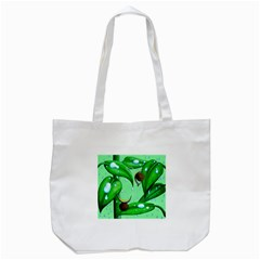 Playing In The Rain Tote Bag (White)
