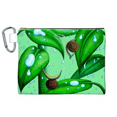 Playing In The Rain Canvas Cosmetic Bag (XL)