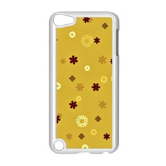 Abstract Geometric Shapes Design In Warm Tones Apple Ipod Touch 5 Case (white)