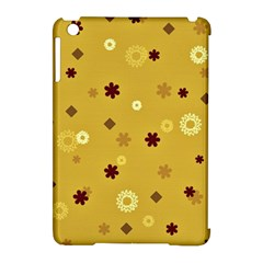 Abstract Geometric Shapes Design in Warm Tones Apple iPad Mini Hardshell Case (Compatible with Smart Cover)