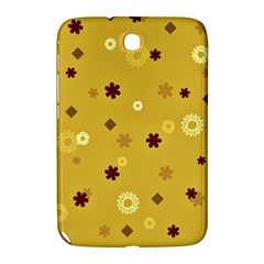 Abstract Geometric Shapes Design In Warm Tones Samsung Galaxy Note 8 0 N5100 Hardshell Case