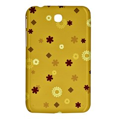 Abstract Geometric Shapes Design In Warm Tones Samsung Galaxy Tab 3 (7 ) P3200 Hardshell Case