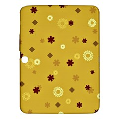 Abstract Geometric Shapes Design in Warm Tones Samsung Galaxy Tab 3 (10.1 ) P5200 Hardshell Case