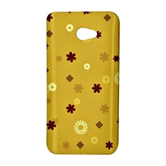 Abstract Geometric Shapes Design in Warm Tones HTC Butterfly S Hardshell Case