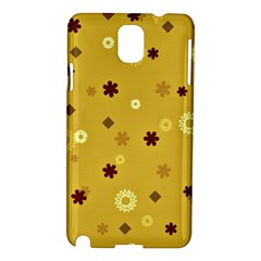 Abstract Geometric Shapes Design In Warm Tones Samsung Galaxy Note 3 N9005 Hardshell Case