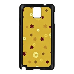 Abstract Geometric Shapes Design in Warm Tones Samsung Galaxy Note 3 N9005 Case (Black)