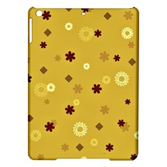 Abstract Geometric Shapes Design In Warm Tones Apple Ipad Air Hardshell Case