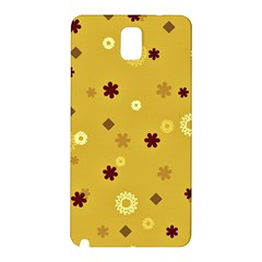 Abstract Geometric Shapes Design in Warm Tones Samsung Galaxy Note 3 N9005 Hardshell Back Case