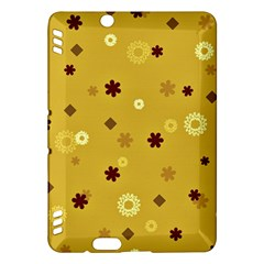 Abstract Geometric Shapes Design In Warm Tones Kindle Fire Hdx Hardshell Case