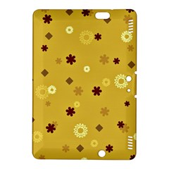 Abstract Geometric Shapes Design in Warm Tones Kindle Fire HDX 8.9  Hardshell Case