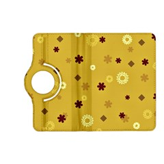Abstract Geometric Shapes Design in Warm Tones Kindle Fire HD (2013) Flip 360 Case