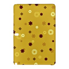 Abstract Geometric Shapes Design In Warm Tones Samsung Galaxy Tab Pro 12 2 Hardshell Case