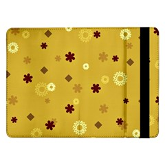 Abstract Geometric Shapes Design in Warm Tones Samsung Galaxy Tab Pro 12.2  Flip Case