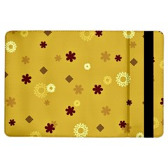 Abstract Geometric Shapes Design in Warm Tones Apple iPad Air Flip Case