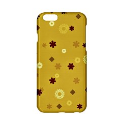 Abstract Geometric Shapes Design in Warm Tones Apple iPhone 6 Hardshell Case