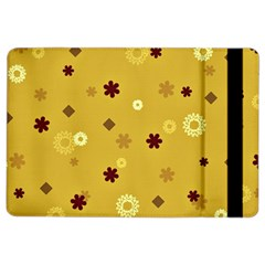 Abstract Geometric Shapes Design In Warm Tones Apple Ipad Air 2 Flip Case
