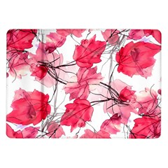 Floral Print Swirls Decorative Design Samsung Galaxy Tab 10.1  P7500 Flip Case