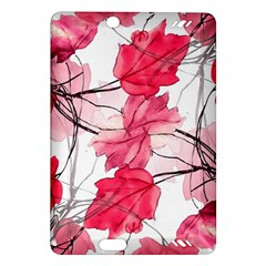 Floral Print Swirls Decorative Design Kindle Fire HD (2013) Hardshell Case