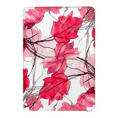 Floral Print Swirls Decorative Design Samsung Galaxy Tab Pro 10.1 Hardshell Case