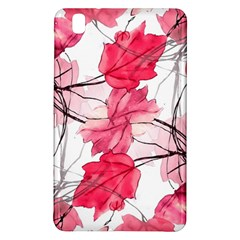 Floral Print Swirls Decorative Design Samsung Galaxy Tab Pro 8.4 Hardshell Case