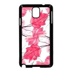 Floral Print Swirls Decorative Design Samsung Galaxy Note 3 Neo Hardshell Case (black)