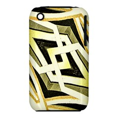 Art Print Tribal Style Pattern Apple iPhone 3G/3GS Hardshell Case (PC+Silicone)