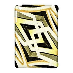 Art Print Tribal Style Pattern Apple Ipad Mini Hardshell Case (compatible With Smart Cover)