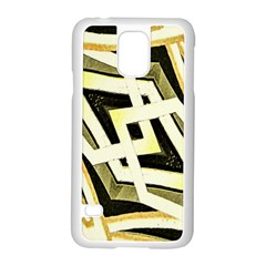 Art Print Tribal Style Pattern Samsung Galaxy S5 Case (white)