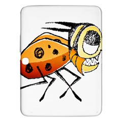 Funny Bug Running Hand Drawn Illustration Samsung Galaxy Tab 3 (10.1 ) P5200 Hardshell Case