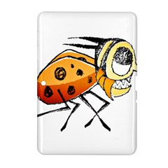 Funny Bug Running Hand Drawn Illustration Samsung Galaxy Tab 2 (10 1 ) P5100 Hardshell Case