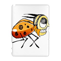 Funny Bug Running Hand Drawn Illustration Samsung Galaxy Note 10 1 (p600) Hardshell Case