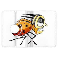 Funny Bug Running Hand Drawn Illustration Kindle Fire HDX Flip 360 Case