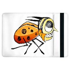 Funny Bug Running Hand Drawn Illustration Apple iPad Air Flip Case