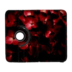 Red Flowers Bouquet in Black Background Photography Samsung Galaxy S  III Flip 360 Case