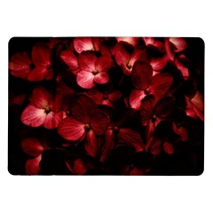 Red Flowers Bouquet In Black Background Photography Samsung Galaxy Tab 10 1  P7500 Flip Case